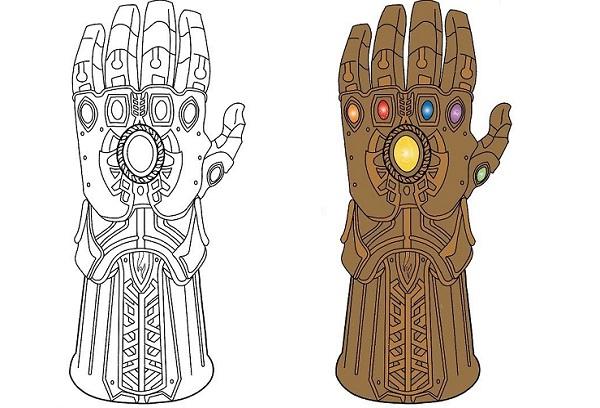Война бесконечности перчатка