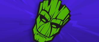 Логотип Грут