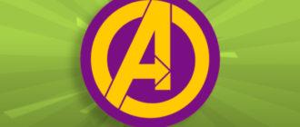 Логотип Команды Мстителей